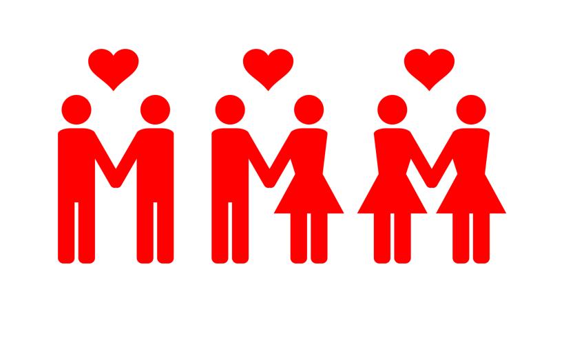 parejas sexos